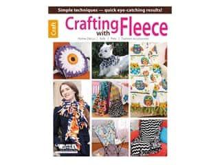 books & patterns: Leisure Arts Crafting With Fleece Book