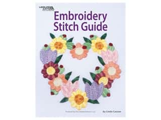 Leisure Arts Embroidery Stitch Guide Book