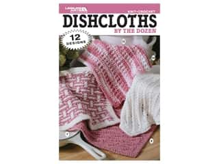 Leisure Arts Dishcloths By The Dozens Crochet Book