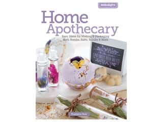 books & patterns: Leisure Arts Make & Give Home Apothecary Book