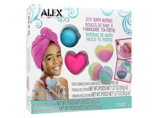 craft & hobbies: Alex Kit DIY Spa Fizzy Bath Bombs