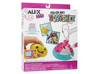 craft & hobbies: Alex Kit DIY Color Me Sqooshies Emoji