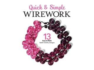 beading & jewelry making supplies: Leisure Arts Quick Simple Wirework Book