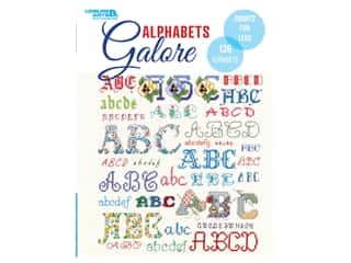 Leisure Arts 136 Alphabet Charts Book