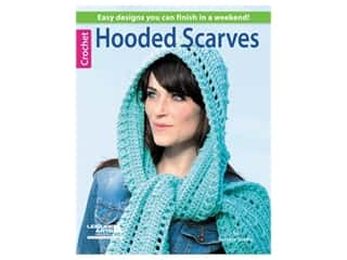 Leisure Arts Hooded Scarves To Crochet Book