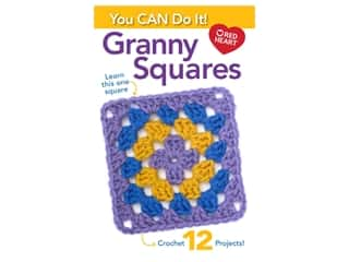 Leisure Arts You Can Do Granny Square Crochet Book