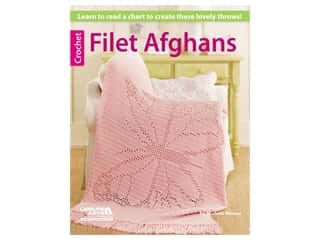 Leisure Arts Filet Afghans Crochet Book