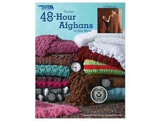 Leisure Arts Crochet 48-Hour Afghans Book
