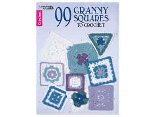 Leisure Arts 99 Granny Squares To Crochet Book