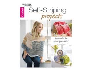 books & patterns: Leisure Arts Self Striping Projects Crochet Book