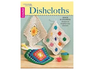 Leisure Arts Dishcloths Crochet Book