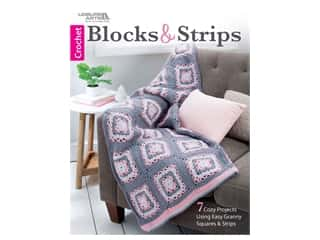 Leisure Arts Blocks & Strips Crochet Book