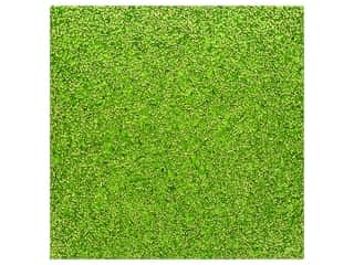 American Crafts 12 x 12 in. Tube Confetti Specialty Paper Grass (10 pieces)