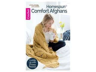 books & patterns: Leisure Arts Homespun Comfort Afghans Book