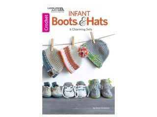 Leisure Arts Infant Boots & Hats Book