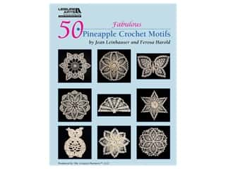 Leisure Arts 50 Fabulous Pineapple Crochet Motifs Book