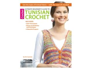 Leisure Arts Ultimate Beginners Guide To Tunisian Crochet Book