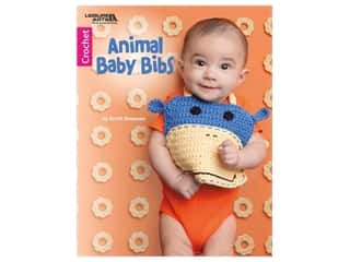 books & patterns: Leisure Arts Animal Baby Bibs Crochet Book
