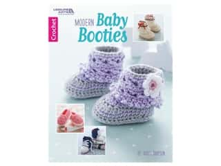 books & patterns: Leisure Arts Modern Baby Booties Book