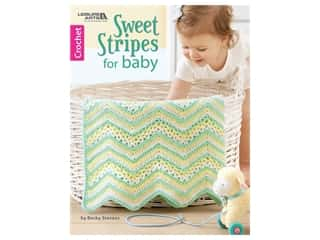 Leisure Arts Sweet Stripes For Baby Book