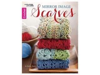 Leisure Arts Mirror Image Scarves Book