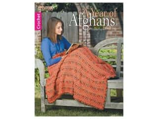 books & patterns: Leisure Arts A Year Of Afghans #16 Crochet Book