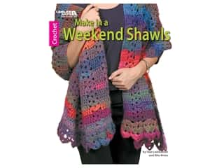 Leisure Arts Make In A Weekend Shawls Book