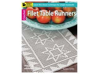 books & patterns: Leisure Arts Filet Table Runners Book