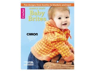 Leisure Arts Simply Soft Baby Brites Book