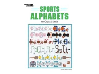 books & patterns: Leisure Arts Sports Alphabets to Cross Stitch Book