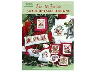 books & patterns: Leisure Arts Fast & Festive 50 Christmas Designs Book