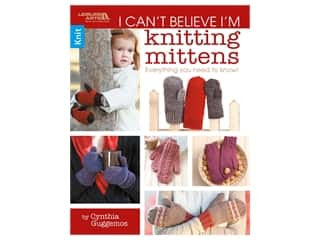 books & patterns: Leisure Arts I Can't Believe I'm Knitting Mittens Book