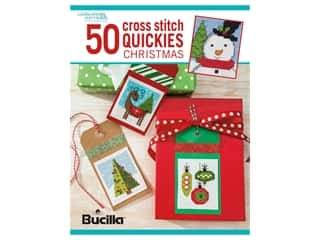 books & patterns: Leisure Arts 50 Cross Stitch Quickies Christmas Book