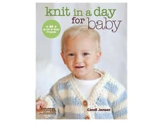 books & patterns: Leisure Arts Knit In A Day For Baby