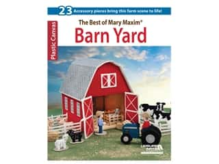 yarn: Leisure Arts The Best Of Mary Maxim Barn Yard Book