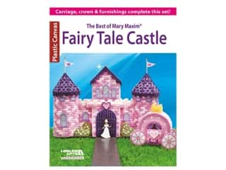 yarn & needlework: Leisure Arts The Best Of Mary Maxim Fairy Tale Castle Plastic Canvas Book
