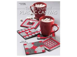 yarn & needlework: Leisure Arts Teach Yourself Plastic Canvas Book