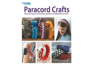 beading & jewelry making supplies: Paracord Crafts by Leisure Arts