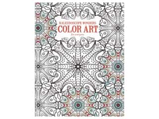 books & patterns: Kaleidoscope Wonders Color Art For Everyone Coloring Book by Leisure Arts