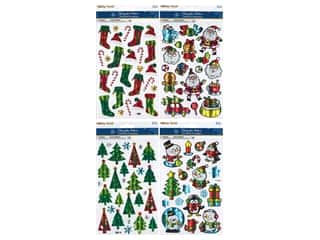Multicraft Sticker Holiday Holographic Fun Assorted (4 sets)