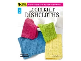 Leisure Arts Loom Knit Dishcloths Book