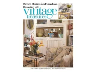 Leisure Arts Better Homes and Gardens Decorating With Vintage Treasures Book