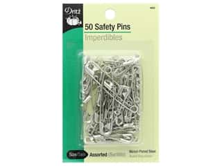 Safety Pins by Dritz Assorted 50 pc.