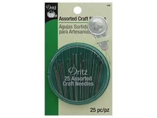 Hand Needles: Dritz Craft Needles 25 pc. Assorted