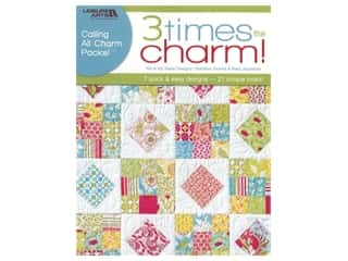 Leisure Arts Three Times The Charm Book