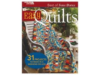 books & patterns: Leisure Arts Best Of Fons & Porter Easy Quilts Book