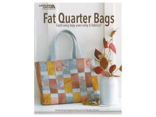 Leisure Arts Fat Quarter Bags by Stephanie Prescott