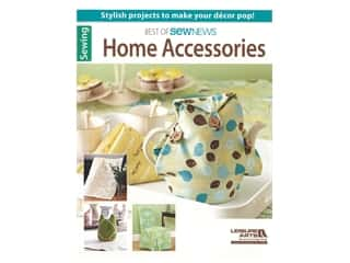 books & patterns: Leisure Arts Best Of Sew News Home Accessories Book