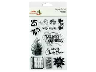 Simple Stories Collection Country Christmas Stamp 4 in. x 6 in.