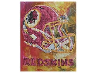 Diamond Art Kit 10 in. x 12 in. Intermediate NFL Team Washington Redskins